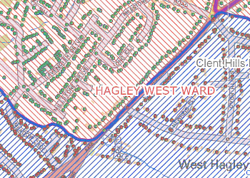 Hagley land transfer map sample