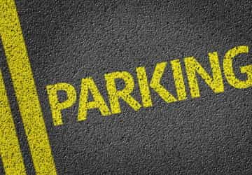 Parking lines image