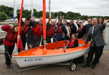 B16057 Launching More Disability Sailing In The District Web