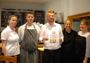 WRS16016 Gold Food Award For Family Run Restaurant