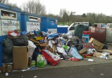 Bring Bank Fly Tip