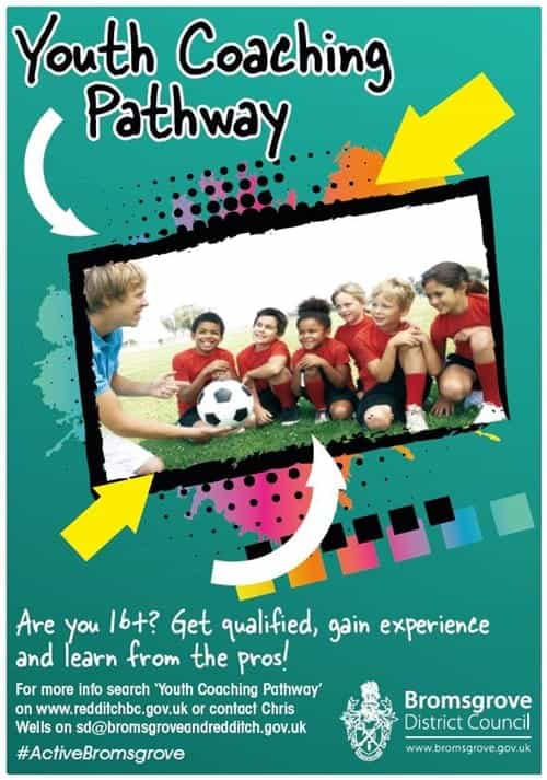 Youth Coaching pathway poster