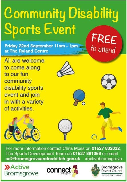 Community Disability Sports Event