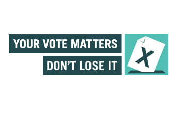 Your Vote Matters Slider