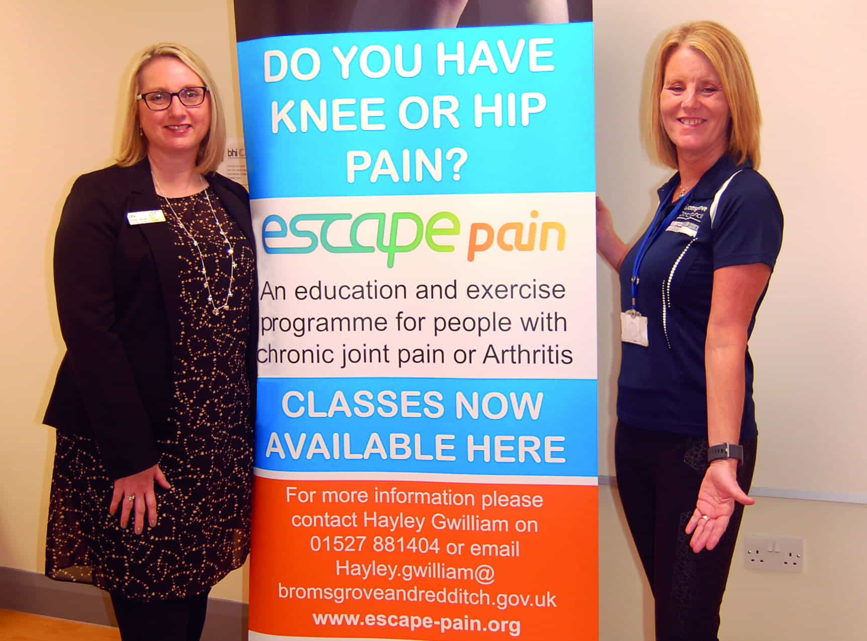 B19015 New Escape Pain Sessions Coming To Bromsgrove