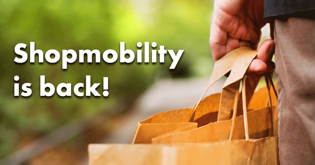 Shopmobility is back