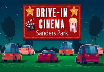 Drive-in cinema comes to Sanders Park