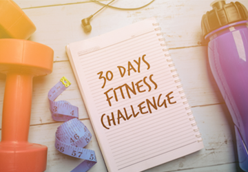 30 Days Of Fitness Challenge