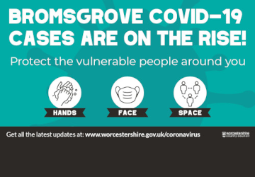 More care urged as cases rise in Bromsgrove District