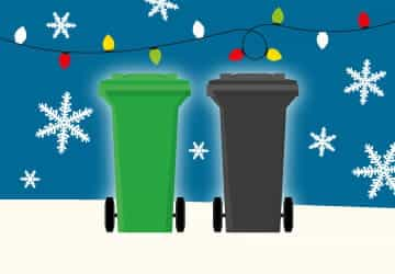 Festive bin collection changes