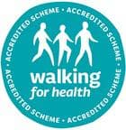 Leisure walking for health logo